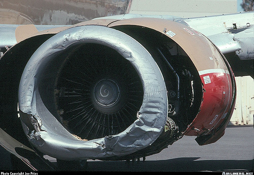 This Engine Was Blown Due To FOD Damage